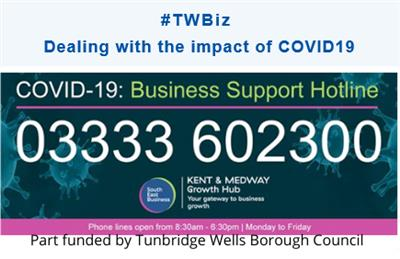 - Kent & Medway Growth Hub business support