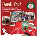 Teddy Mayor's Toy Appeal - a big thank you