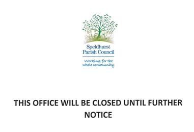 - Council Office Closure